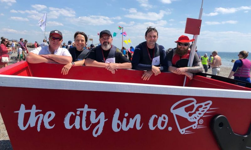 'Skip Ahoy' at Salthill Raft Race 2018