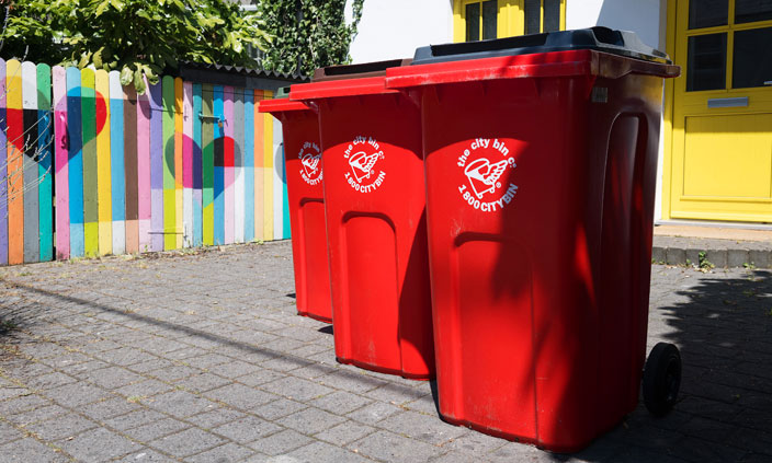 The Power Of The Red Bins!