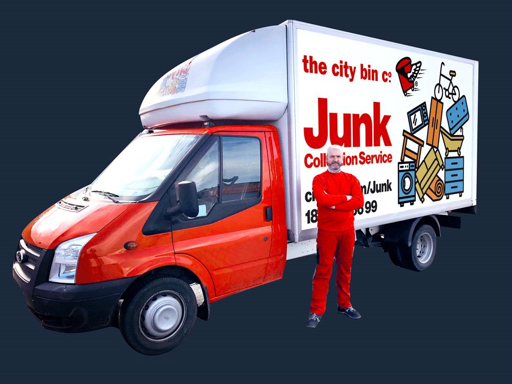 CityJunkVan Icon ForLanding